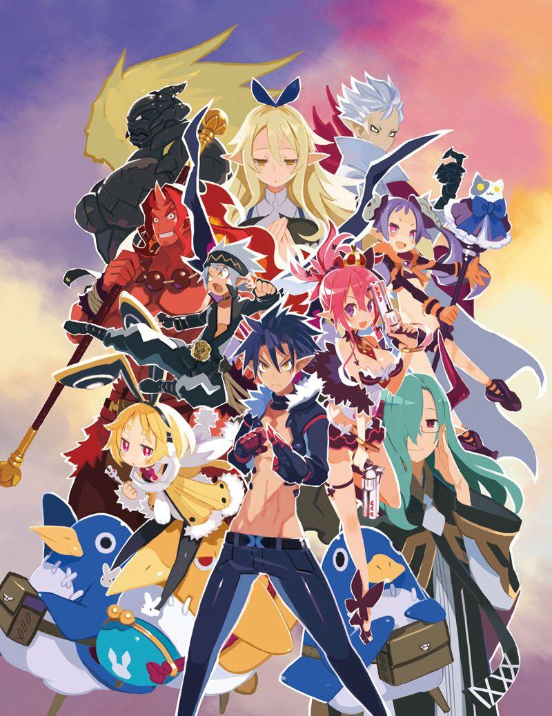 Disgaea 5 Disgaea Anime Manga Pictures