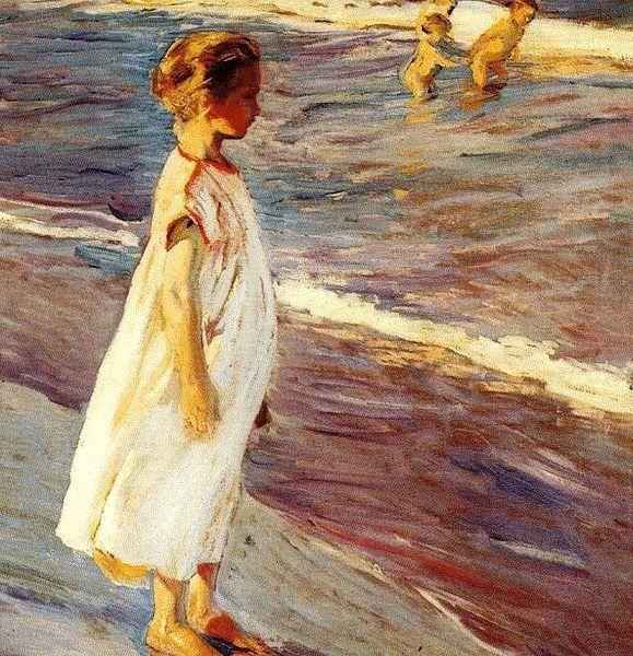 Joaquin Sorolla y Bastida (1863 – 1923, Spanish)  Menina