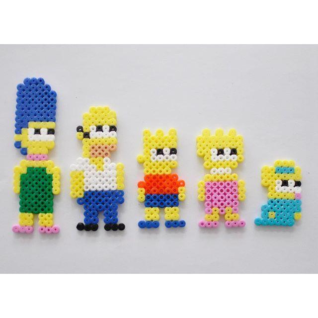 The Simpsons hama beads by parlplatteinspo | hama | Pinterest ...