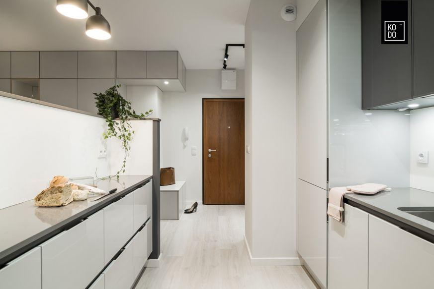 Biala Zabudowa W Kuchni Design White Kitchen Kitchen