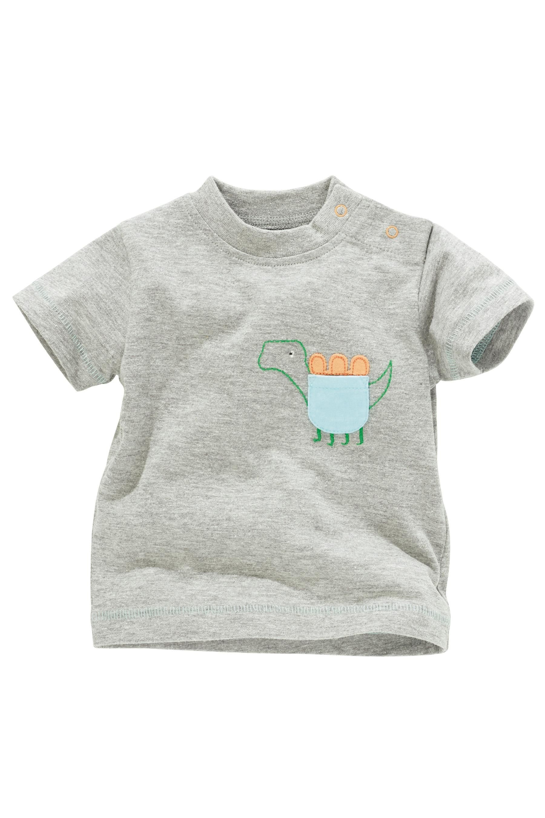 Buy Dino T Shirts Three Pack 0 18mths from the Next UK online shop
