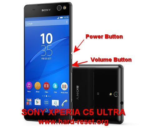 Hard Reset Sony Xperia C5 Ultra With 2 Gb Ram And 16 Gb Internal Memory Rom This Phone Already Use Android Lollipop For Factory Default Sony Xperia Sony Reset