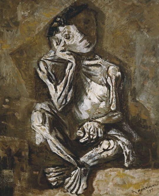 Sentado A Nino De 1945 Candido Portinari 1903 1962 Arte