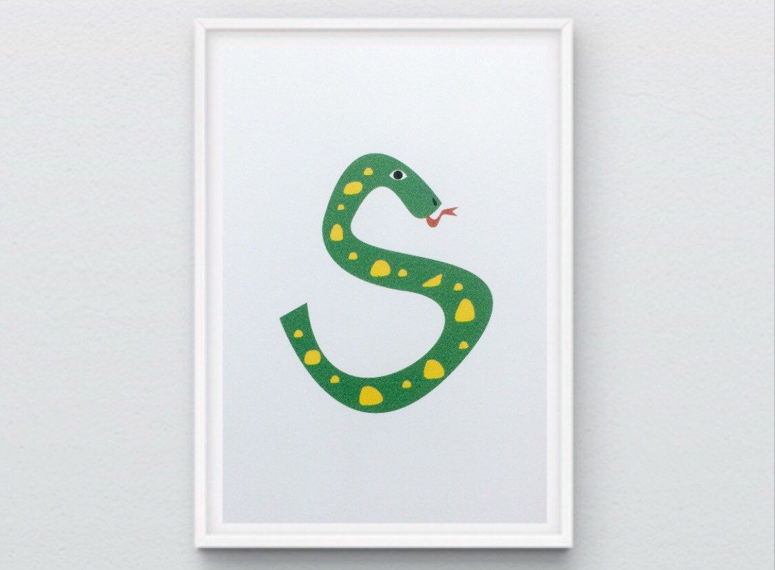 A personal favorite from my Etsy shop https://www.etsy.com/listing/265971842/alphabet-d-home-decor-nursery-kids-room