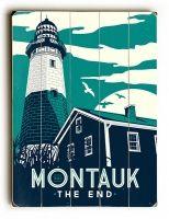 Montauk Lighthouse Sign