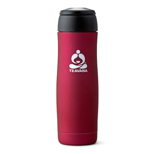 Includes a removable tea basket so you can steep your tea anywhere; and the double-walled, vacuum-insulated tea tumbler will keep your favorite blend hot or cold for up to six hours. Just steep your Teavana tea and then remove the tea basket once done!   Holds 16 oz (470 mL) of tea