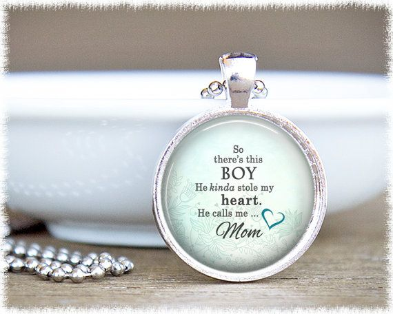 Mom Jewelry  Mum Jewellery  This Boy Jewelry  by SuedeSentiment, $16.00