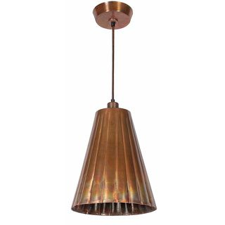 Overstock lillie 1 light flamed copper pendant the lillie kenroy home lighting flute flamed copper mini pendant light with empire shade at destination lighting mozeypictures Image collections