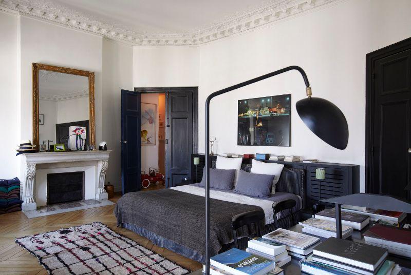 chambre sarah lavoine les visites priv es de carnet d. Black Bedroom Furniture Sets. Home Design Ideas