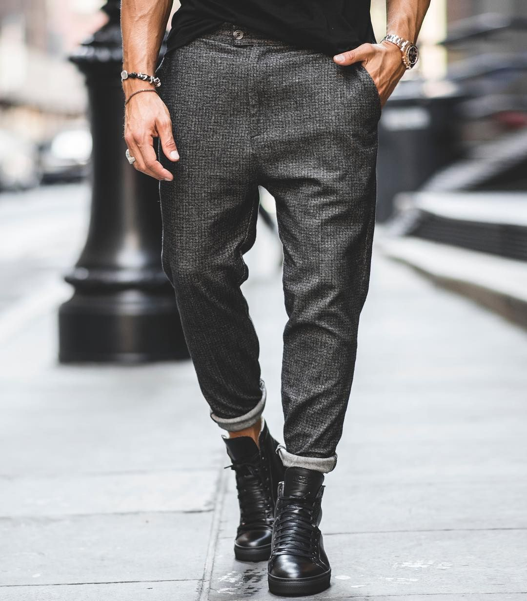 Find this perfect combination of trousers and shoes by the ...