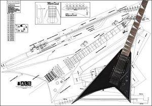 Jackson Randy Rhoads® Electric Guitar Plan | Guitar, Guitar ... on jackson soloist body, gibson les paul wiring, jackson soloist blue, bass wiring, jackson soloist parts,