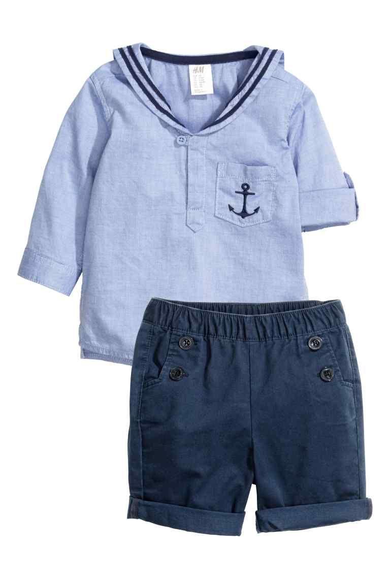 meilleure sélection 891a6 c1ab4 Ensemble marin | H&M | Baby and kids | Vetement bébé garçon ...