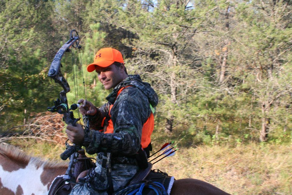 Bridle less bow hunting with kevin spaeth horsemanship