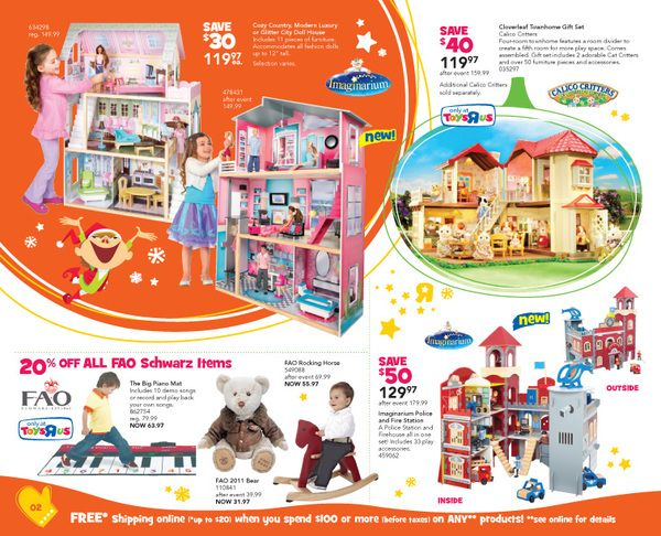 Christmas Toy Catalogs By Mail.2011 Toys R Us Christmas Toy Catalogue By Alexey Makhinko