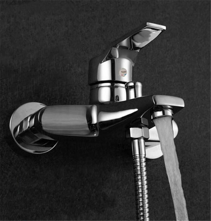 Faucet Bathroom Tub Shower Faucet Wall Mounted Shower Head Bath