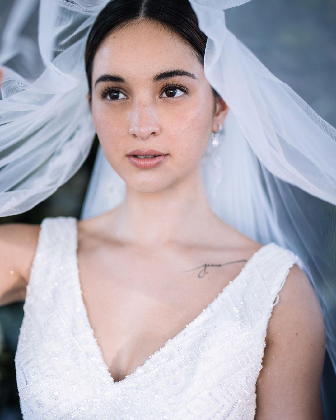Realbride Coleen Garcia Crawford Does Elegant Beauty For Her Wedding