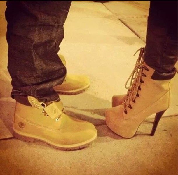 There are 4 tips to buy these shoes: boots heels camel fashion sexy ankle  boots couple timberland heels beige timberlands.