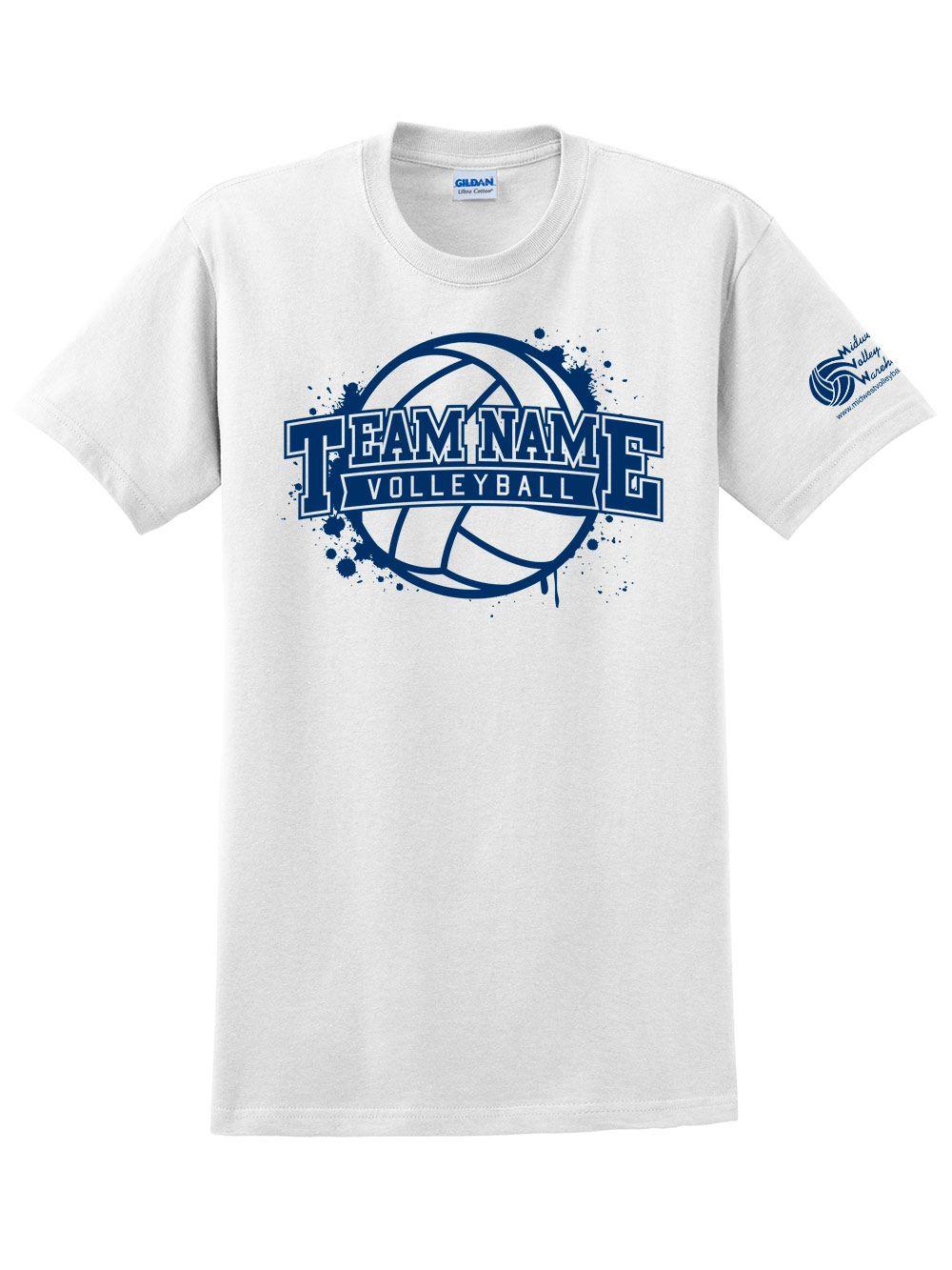 Custom Paint Splatter Shirt Midwest Volleyball Warehouse Volleyball Shirt Designs Volleyball T Shirt Designs Team Shirt Designs