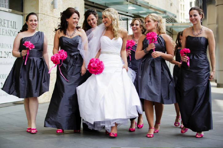 Julie Caleb: A Downtown Chicago Soirée | My Wedding | Pinterest ...