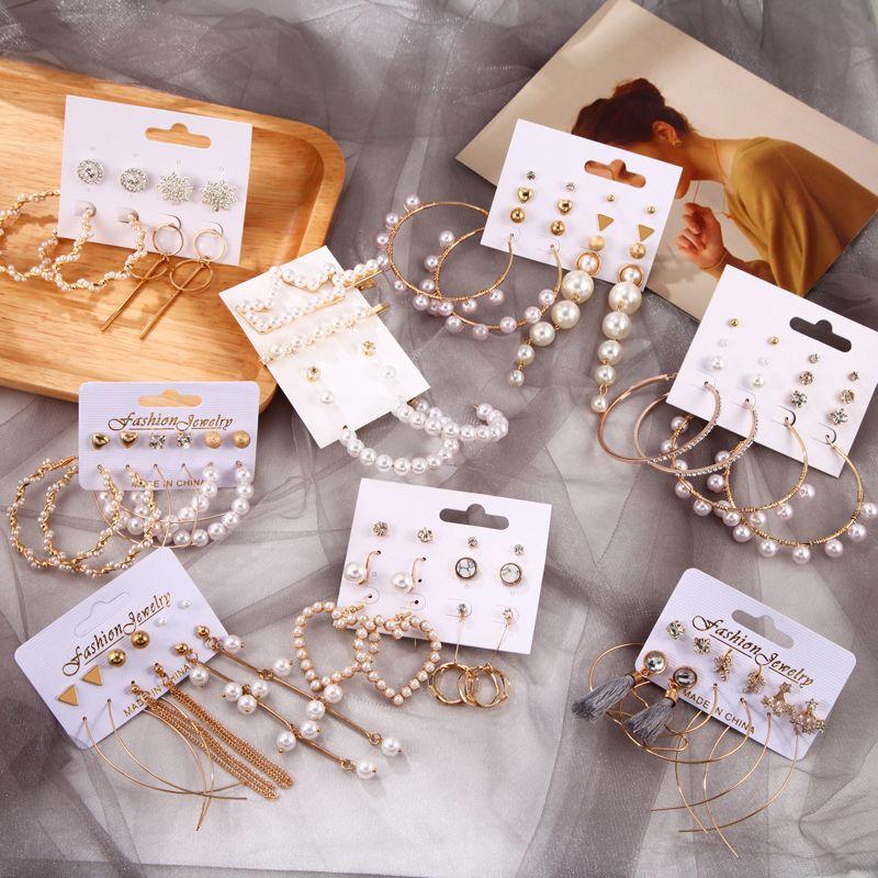 Precioso Plata y gota de perla Clip encanto para bracelets-new