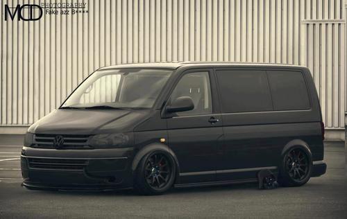 vw t5 transporter slammed in the garage pinterest t5. Black Bedroom Furniture Sets. Home Design Ideas