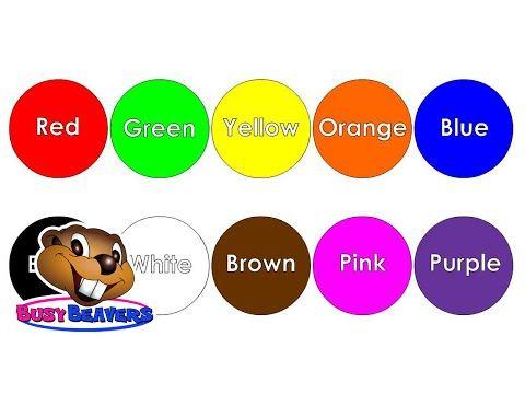 the color song clip apprendre couleurs en anglais couleurs pour les enfants