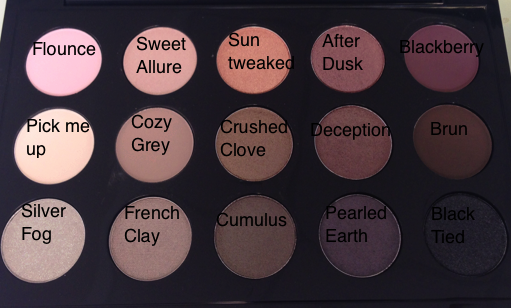Cooltoned MAC eyeshadows