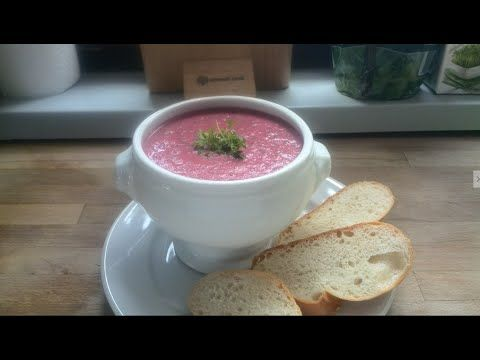 Rote Bete-Granatapfel Suppe - YouTube