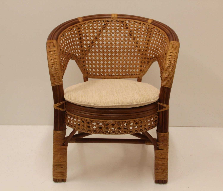 Pelangi Handmade Rattan Dining Wicker Chair W