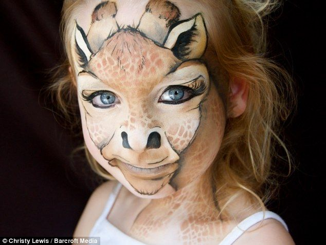 The world\'s ugliest face painting: Mother transforms her children ...