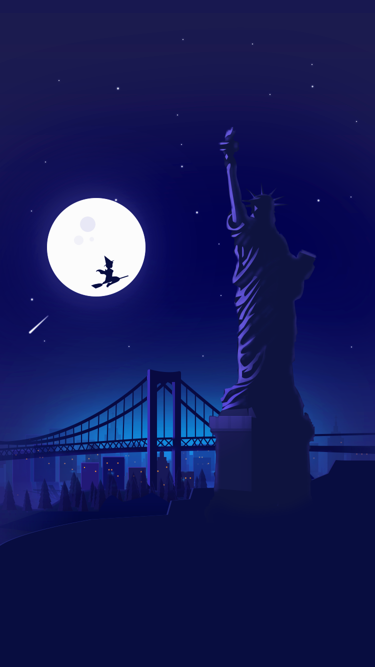 New York Halloween Wallpaper Iphone, Witch Wallpaper, Mobile Wallpaper, Hd Wallpapers For Mobile