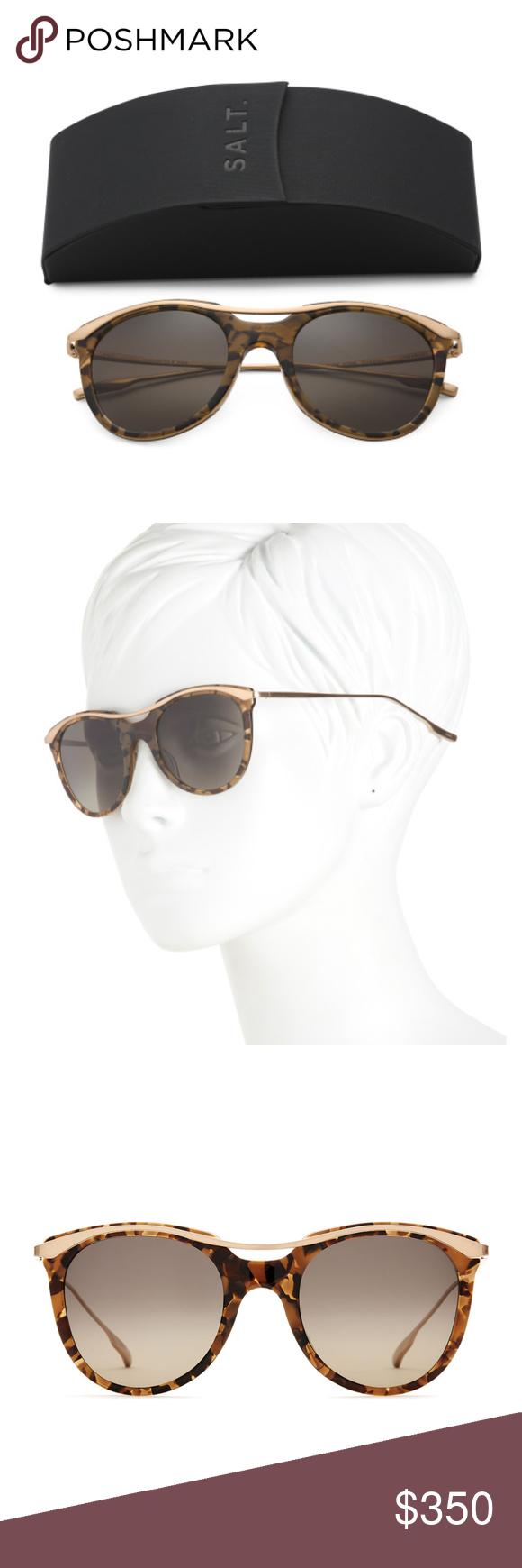 6033dab2fd8 SALT Made in Japan Elkins Polarized Sunglasses New with case.  Lens bridge temple