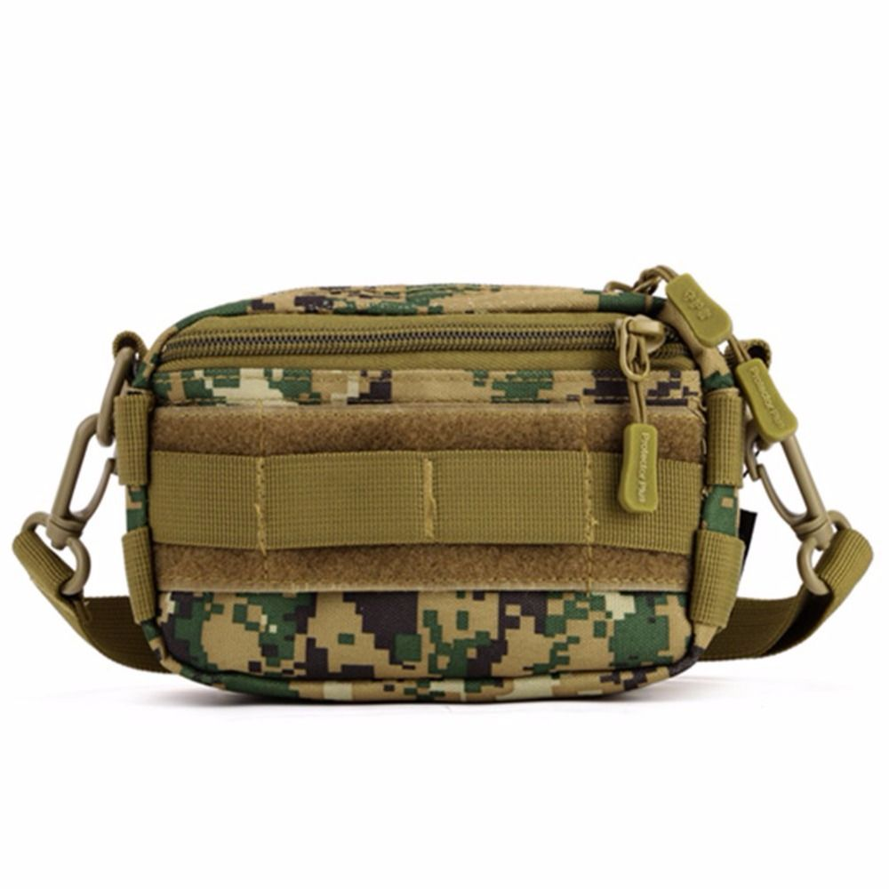 Portable Tactical Sling Chest Pack Molle Military Shoulder Bag  Pouch Case