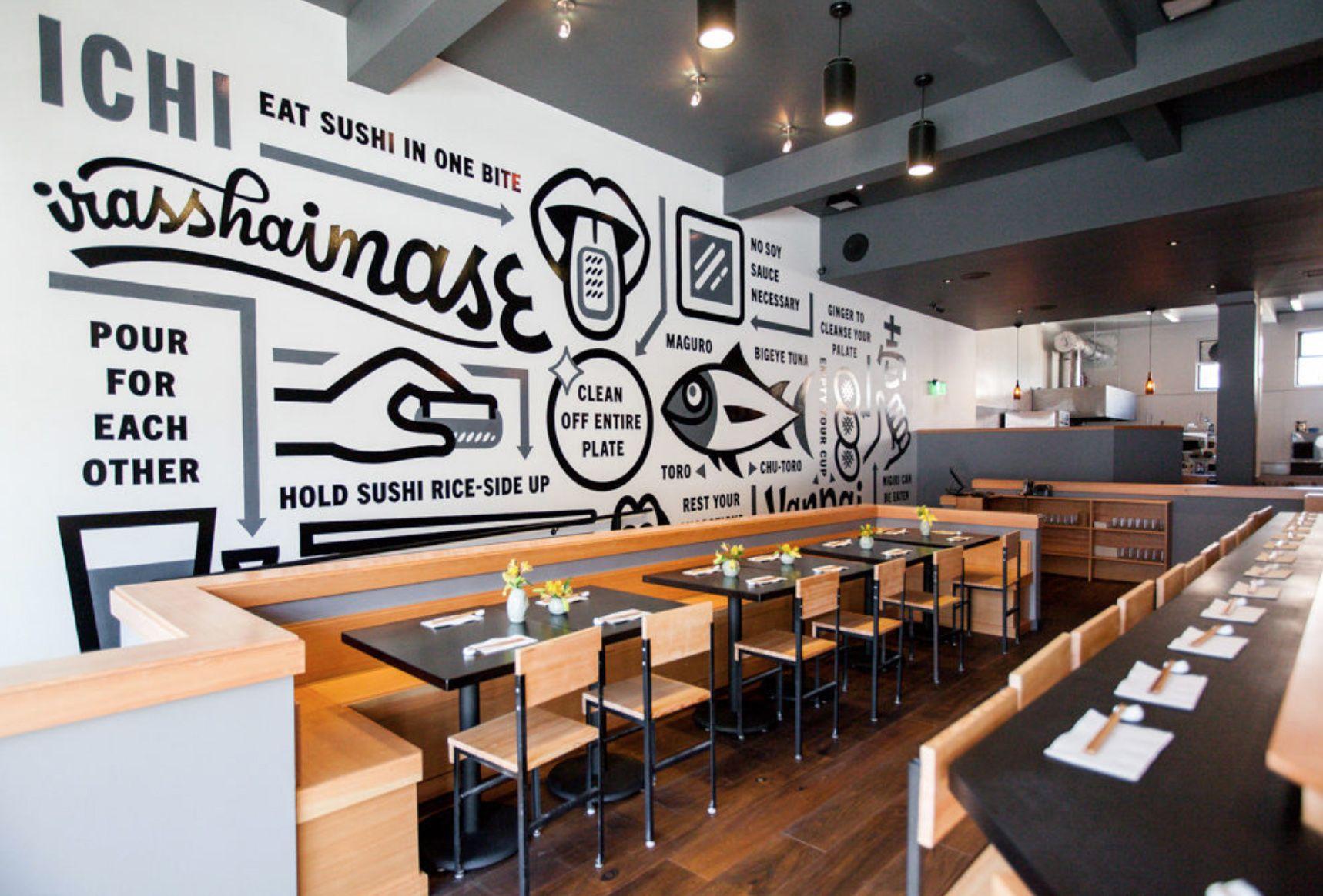 ICHI Sushi   Erik Marinovich   Interior Design: Coffee Shops ...
