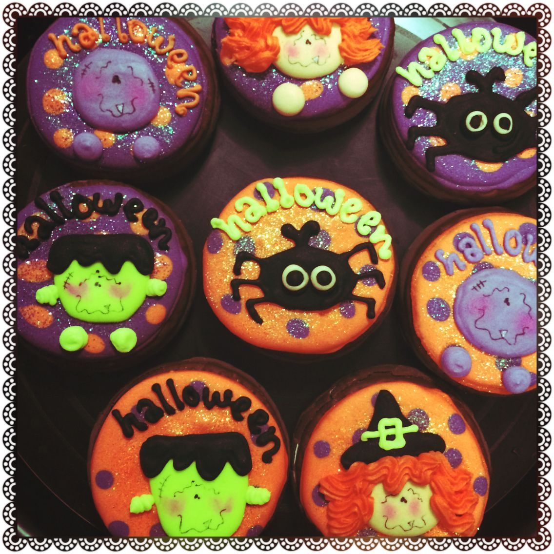 Decorado De Halloween Mamut Decorado Halloween Galletas Decoradas Pinterest