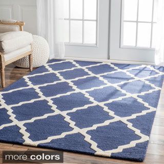 Nuloom Handmade Alexa Moroccan Trellis Wool Area Rug 5 X 8 Ping The Best Deals On 5x8 6x9 Rugs