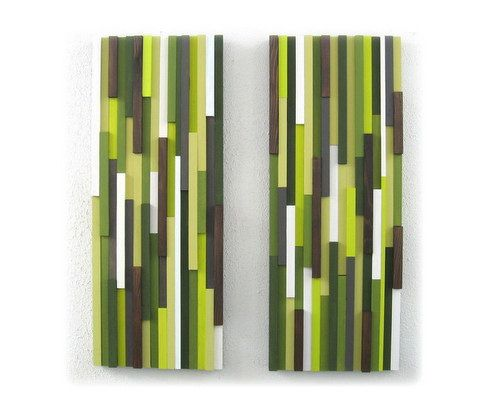 Wall art set of two abstract wood sculpture home decor hanging on etsy also rh pinterest