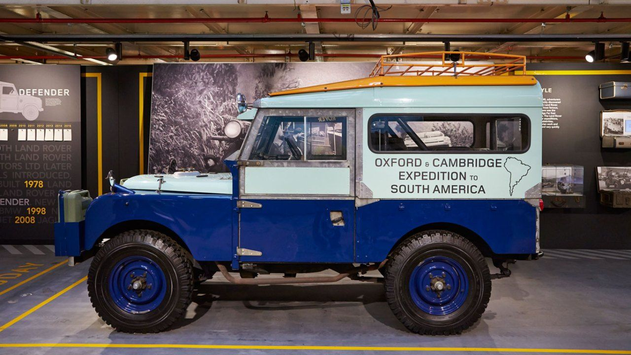 Land Rover Serie One 86 Expedition Celebration Line Land Rover Land Rover Defender Land Rover Series