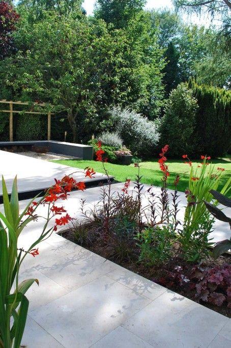 Modern Urban Garden - Cranbrook Kent UK - Jo Thompson Landscape and ...