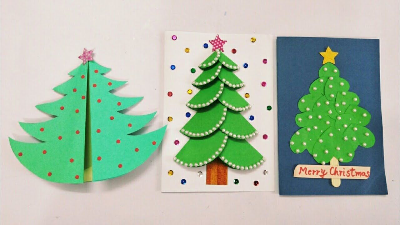3 Diy Christmas Cards For Kids Handmade Christmas Greeting Cards For Kids Christmas Greeting Cards Handmade Christmas Cards Kids Christmas Cards Handmade