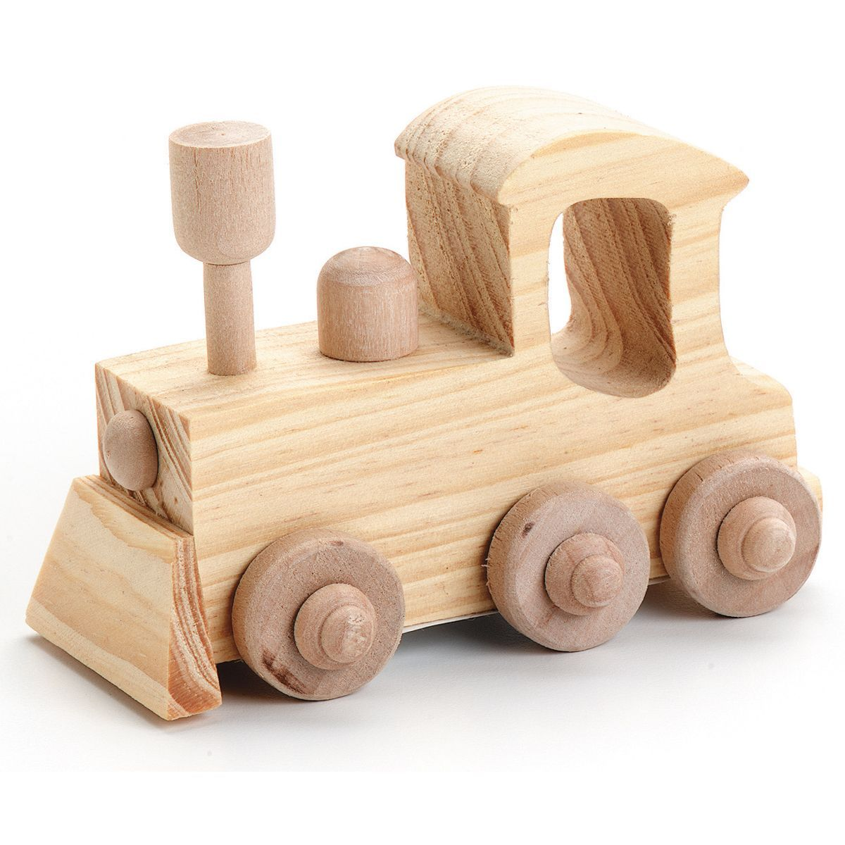 Darice Wood Toy Kit Locomotive Decorate Your Own Wooden