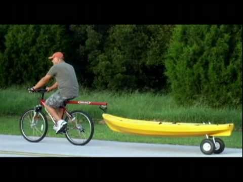 Kayak Bike Tow Bar On The Water Pinterest Kayaks Bikes And