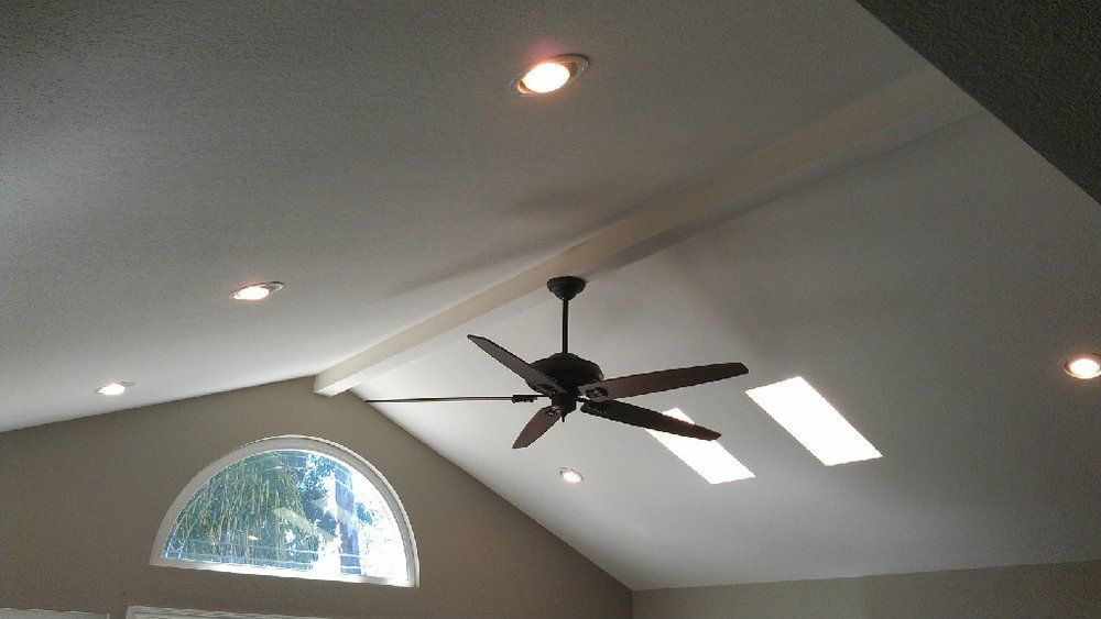Ceiling Fan Expert At Hansen Wholesale For Sizing Ceiling Fans And Downrods There Are Few In The World Vaulted Ceiling Lighting Ceiling Fan Recessed Lighting