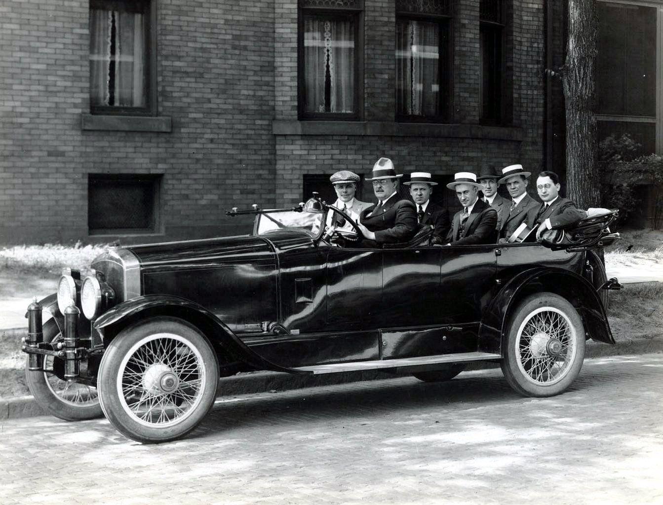 Doble Model C Seven Passenger Version Car Antique Cars Steam