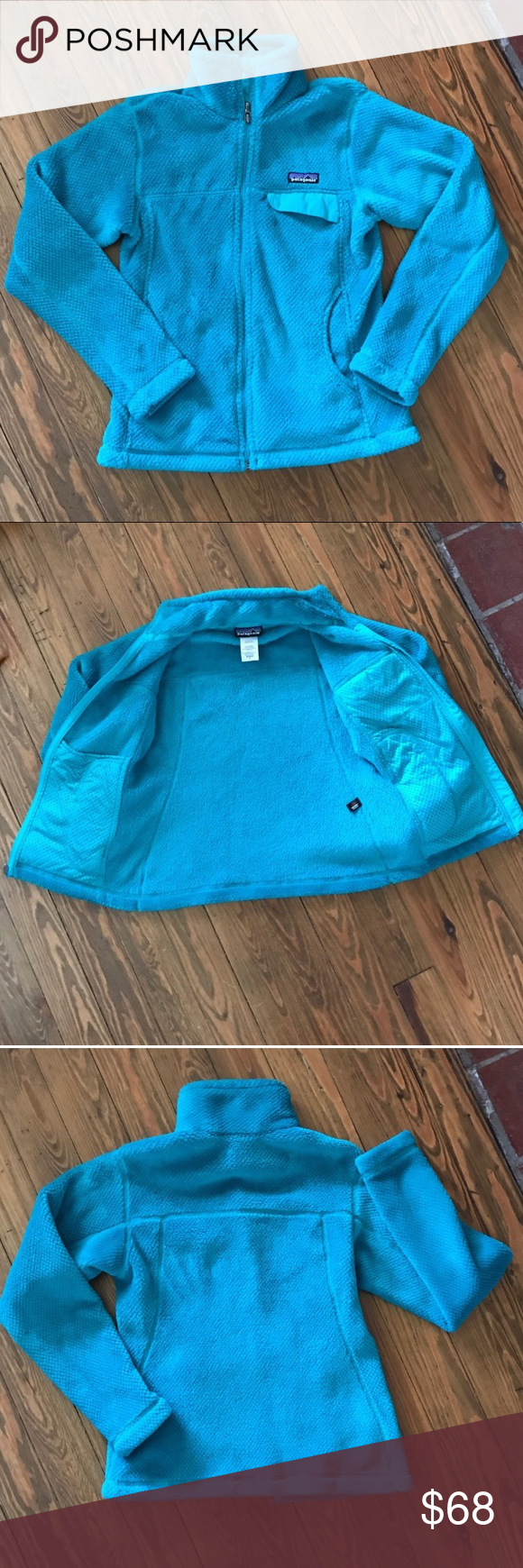 Patagonia fleece jacket womenus small excellent condition worn less
