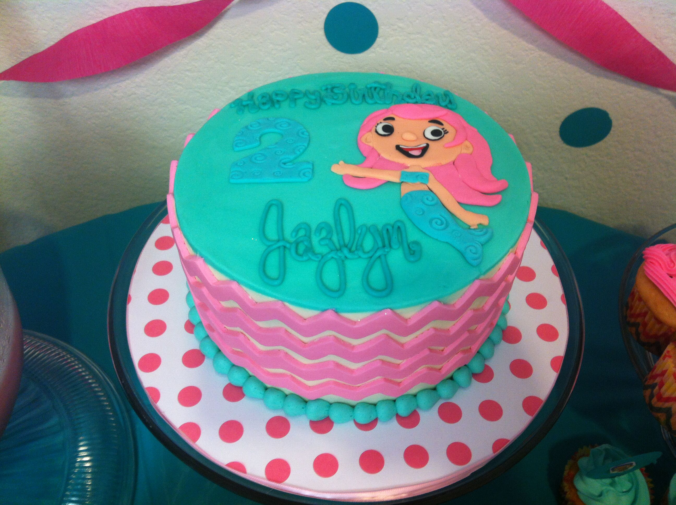 bubble guppies molly cake