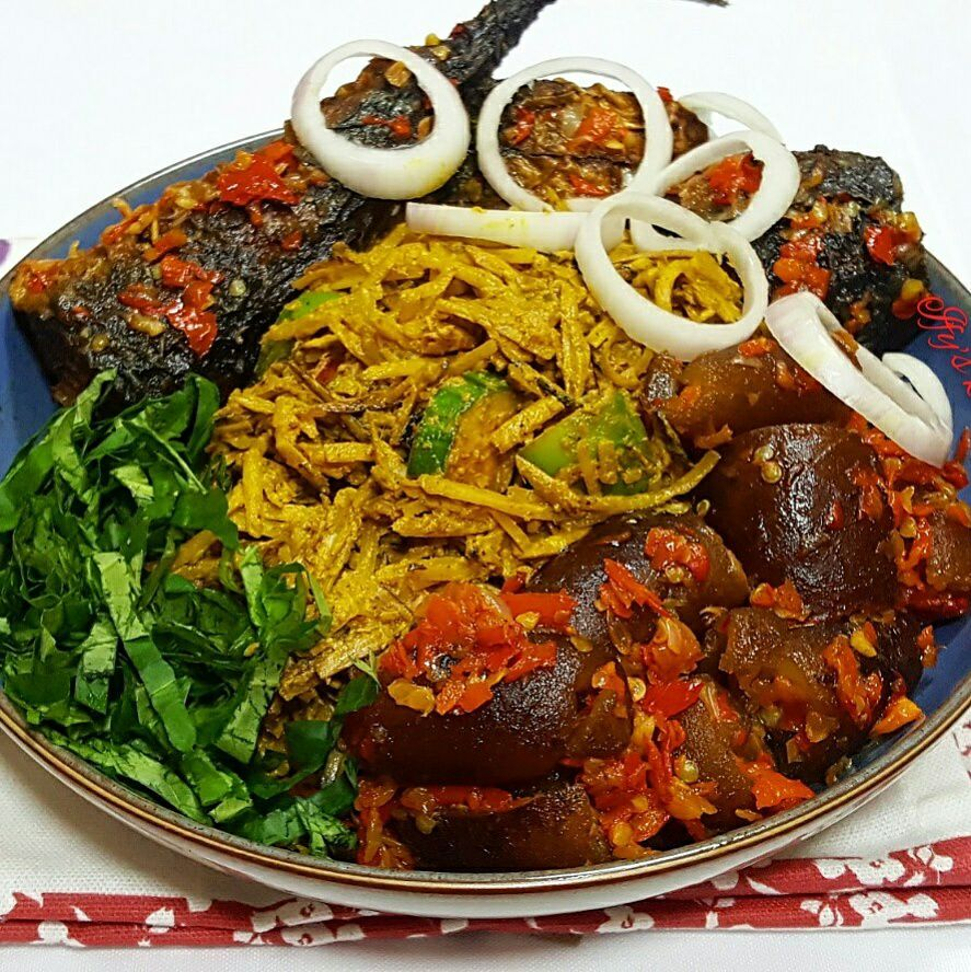 13 African Recipes: There Many Variations To Abacha And Ugba Recipe