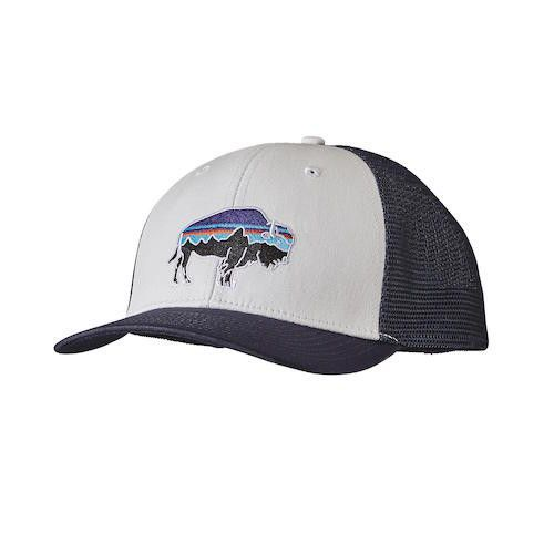f017e338dc8 Patagonia Fitz Roy Bison Trucker Hat