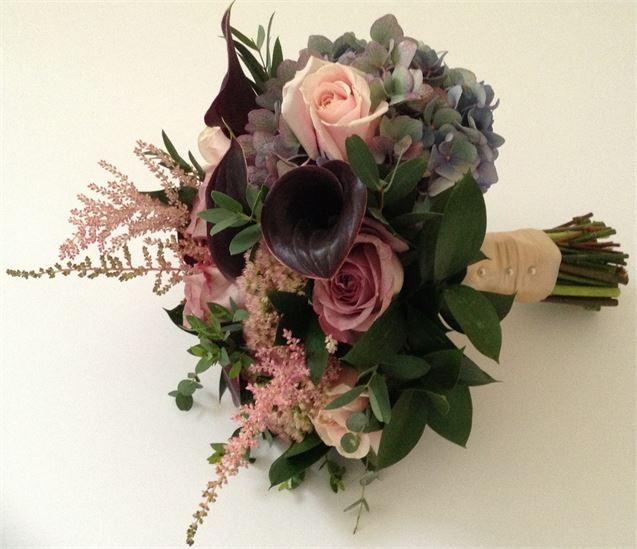 Sweet Avalanche, Cala Lily, Hydrangea, Astilbe