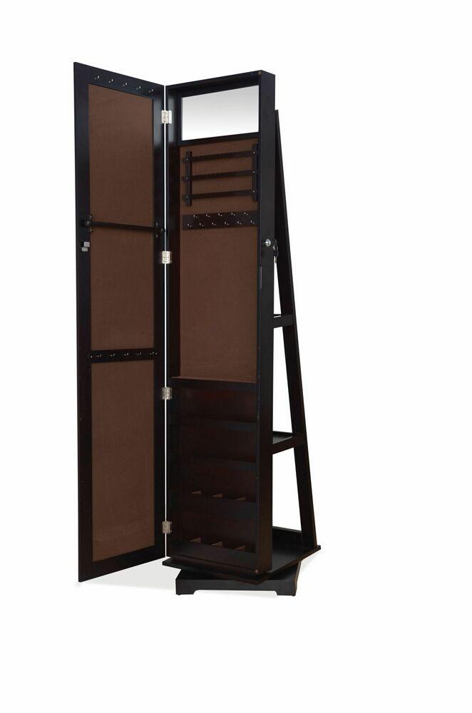Jazi espresso finish wood rectangular shaped swivel Free standing